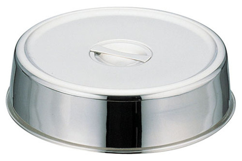 [TKG16-1546] UK18-8スタッキング丸皿カバー 20インチ用
