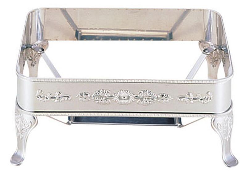 UK18-8 ユニット角湯煎用スタンド 菊 24インチ 6-1449-0213 チェーフィング(角型), チタン工房キムラ:6733724d --- s373.jp