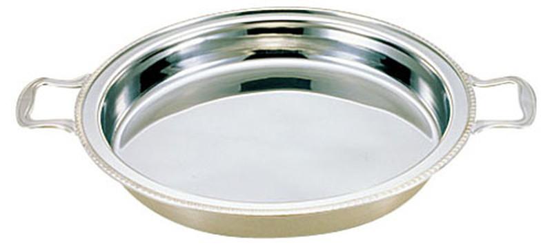 [TKG16-1449] UK18-8ユニット丸湯煎用 フードパン 深型 18インチ