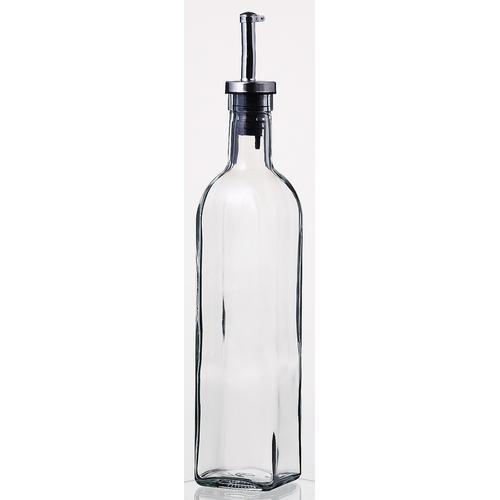飲食店向け業務用製品は食器プロで 保存容器 オイルボトル 割引 500ml オイル メーカー公式 ヴィネガー8041 1本 ディスペンサー ガラス オリーブオイル sg-2628 ドレッシング 業務用
