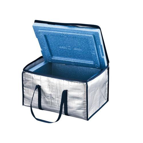 アルミカバー付 Pボックス J-24(J-24青仕様) 保温・保冷ボックス(冷・温ボックス)