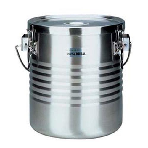 THERMOS 18-8 真空断熱容器(シャトルドラム) 手付 JIK-W18 真空食缶
