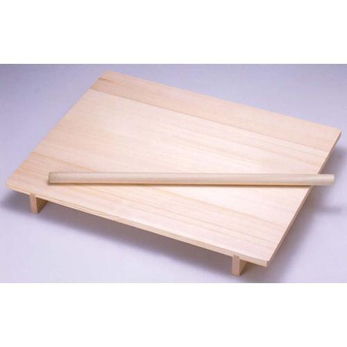 木製 のし板 めん棒付(桐材) 大 のし板(のし台)
