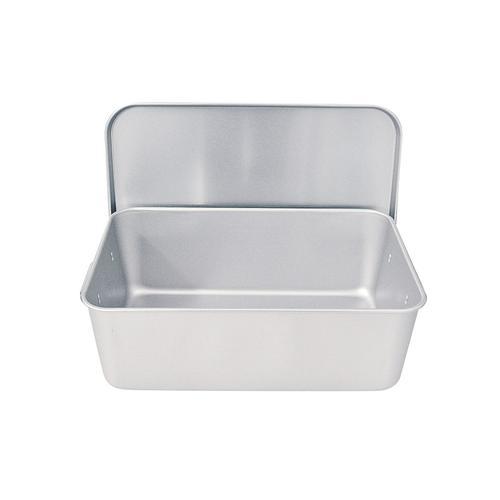 アルマイト 重なるパン箱(蓋付) TA-40(35~45人対応) 番重