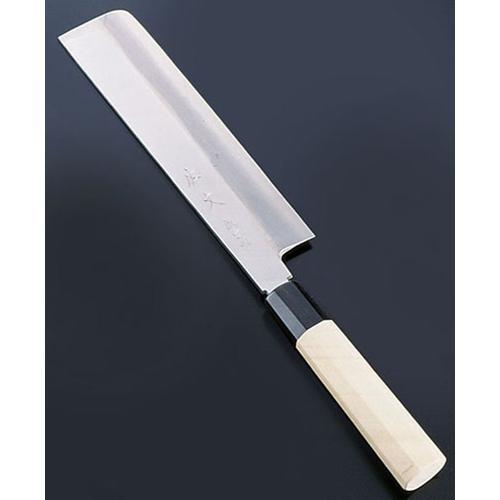 SA佐文 銀三鏡面仕上 薄刃 18cm 和庖丁(菜切)