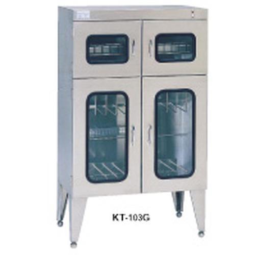 紫外線殺菌庫キチンエース(殺菌式) KT-103G 保管庫(調理器具用)