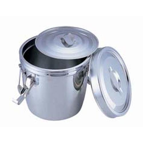 SA18-8 ダブル汁食缶(フック付) 10l(両手付) 汁食缶