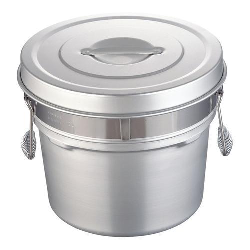 アルマイト段付二重食缶 248R(12l) 食缶