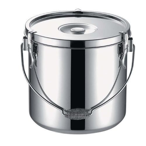 KO19-0 電磁調理器対応給食缶 33cm(両手) 給食用飯缶