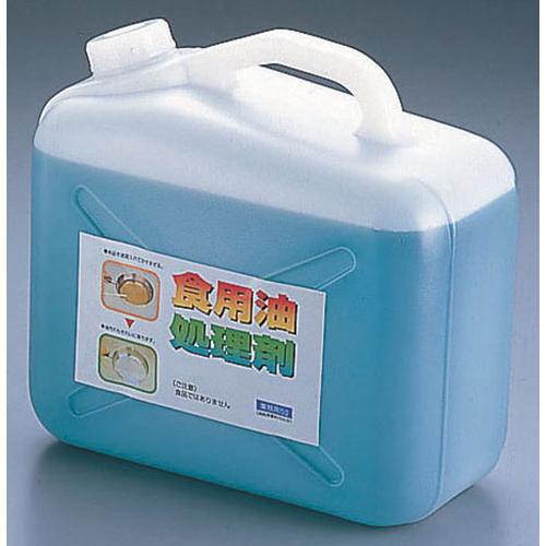天ぷら油処理剤 油コックさん5l (計量カップ付) 廃油処理剤