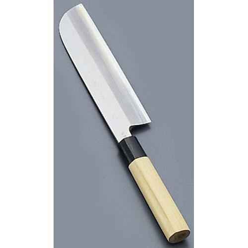 堺實光 匠練銀三 鎌薄刃(片刃) 16.5cm37502 和庖丁(菜切)