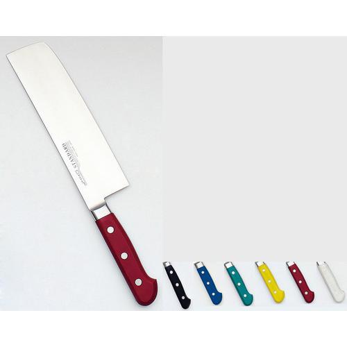 堺實光 STD抗菌PC 菜切(両刃) 18cm黄56105 和庖丁(菜切)