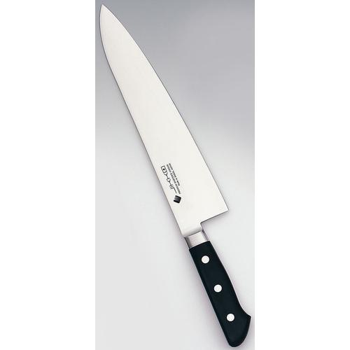 堺實光 プレミアムマスター(ツバ付) 牛刀30cm 洋庖丁(牛切)