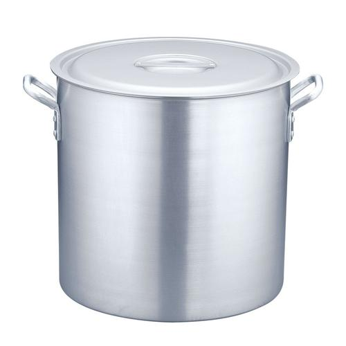 寸胴鍋 アルミニウム(アルマイト加工) (目盛付)TKG48cm 寸胴鍋