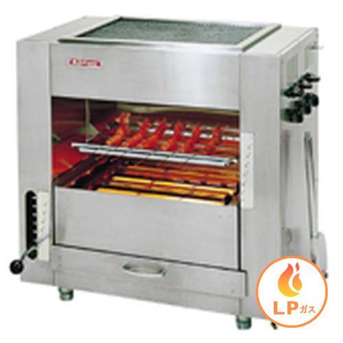 ガス赤外線同時両面焼グリラー「武蔵」 (中型)SGR-65LPガス グリラー(焼物器)