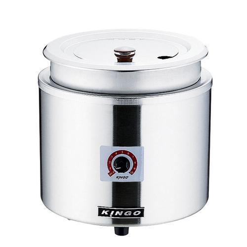 KINGO湯煎式電気スープジャー 11L D9001 ジャー(保温)