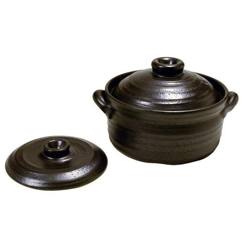 IH対応炊飯鍋2合炊き(中蓋付) ごはん鍋