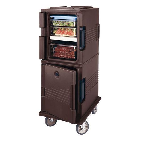 CAMBRO キャンブロ フードパン用カムカート UPC800ダークブラウン コンテナー(保温・保冷用)