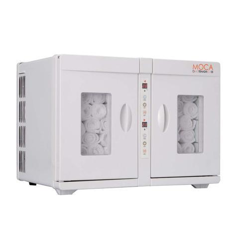 業務用温冷庫 MOCA CHC-16WF・両開きタイプ タオル入