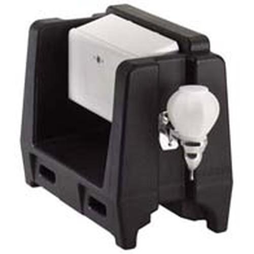 CAMBRO カムテナー用ハンドウォッシュアクセサリ HWATDブラック ディスペンサー(ドリンク用)