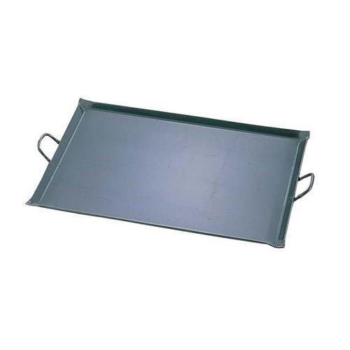 鉄 極厚プレス式 バーベキュー鉄板 小 バーベキュー用品