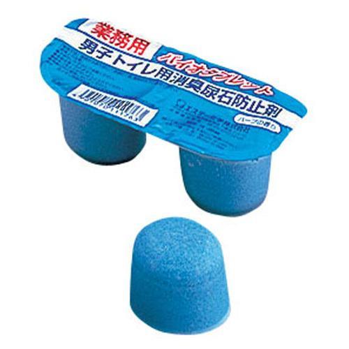 男子トイレ用尿石防止剤 バイオタブレット (2ケ組×10組入) トイレ洗剤