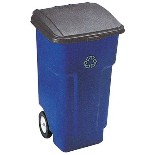 スクエア ブルートビッグホイールコンテナ 9W27-73 ダストカート(ゴミ箱集積用)