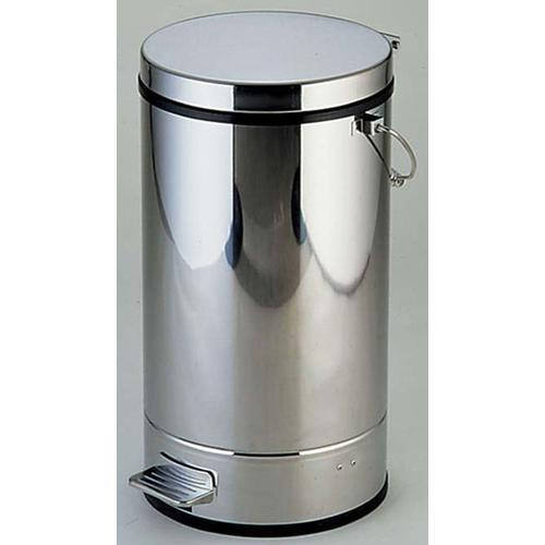 SA18-0ペダルボックス P-3型B中缶付18L ゴミ箱(回収用)
