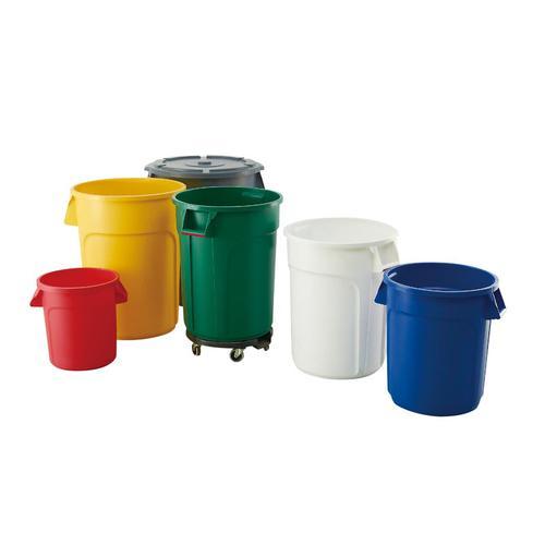 Trust トラスト ラウンドコンテナ 101138Lイエロー  ゴミ箱(集積用):業務用食器の食器プロ H&K館