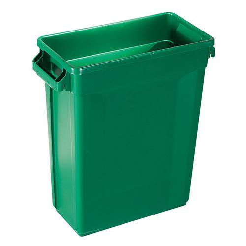 Trust トラスト スリムレクタングルコンテナ 121160Lグリーン ゴミ箱(集積用)