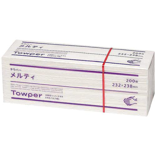 トウカイ ペーパータオル (20束入) メルティタウパー ペーパータオル