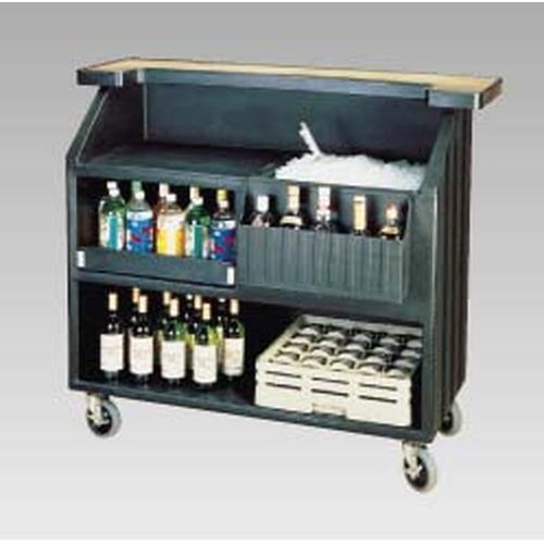 CAMBRO キャンブロ ポータブルバー BAR540 コーヒーベージュ インテリアワゴン