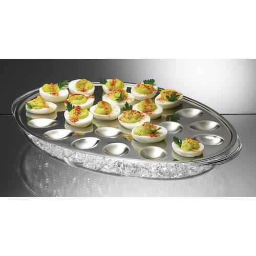 PRODYNE プロダイン アイスド・エッグ IC-24 ビュッフェ用大皿(洋食器)