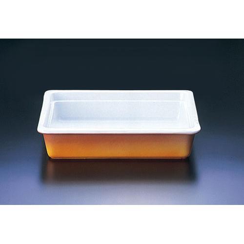 ロイヤル陶器製 角ガストロノームパン PC625-232/3カラー ビュッフェ用大皿(洋食器)