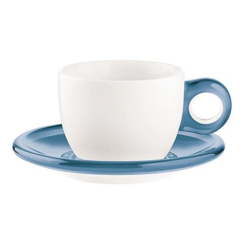 guzzini ゴッチェ カプチーノカップ2P 2774.0081ブルー 洋食器