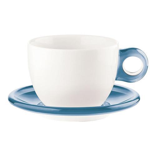guzzini ゴッチェ ブレックファーストカップ2P 2775.0081ブルー 洋食器