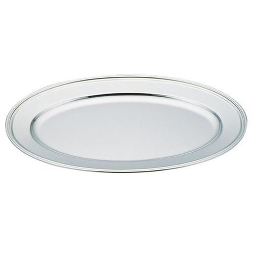 UK18-8 B渕小判皿 48インチ(魚皿兼用) 小判皿(洋食宴会用)