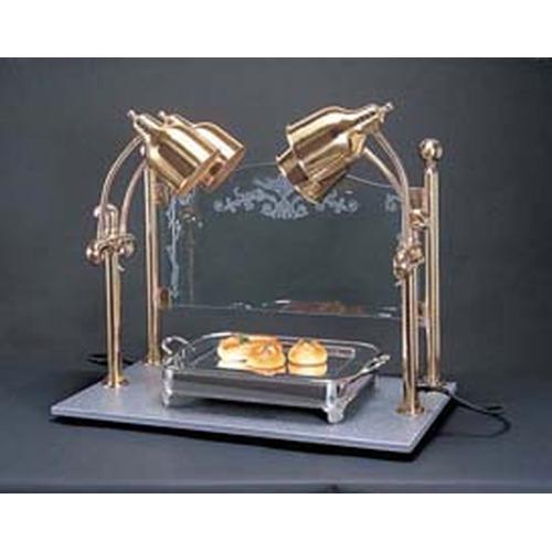 ヒートランプウォーマー 4灯タイプ (カービングディスプレー付) ランプウォーマー
