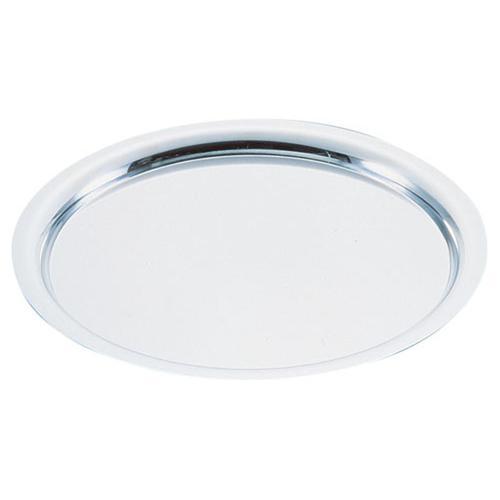 UK18-8 プレーンタイプ丸盆 24インチ 丸皿(洋食宴会用)