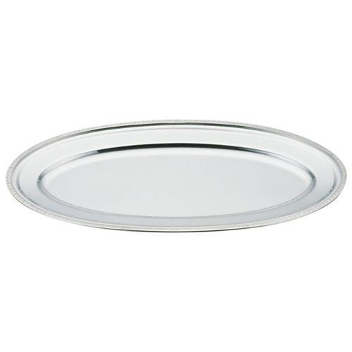 UK18-8 菊渕魚皿 26インチ 小判皿(洋食宴会用)