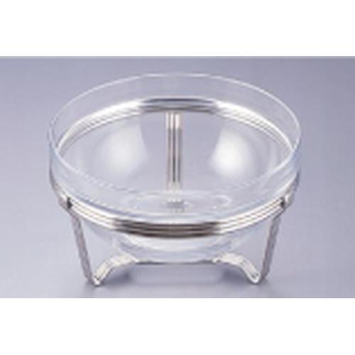 TKG18-8 アストラル サラダボール スタンドセット26cm ビュッフェ用大皿(洋食器)