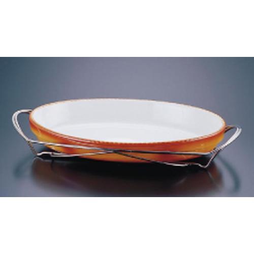 SAシャトレ 小判グラタンセット 12-3011-40B ビュッフェ用大皿(洋食器)