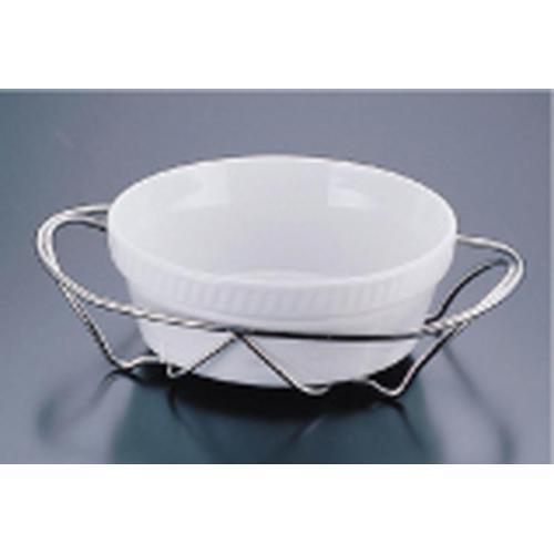 SAシャトレ 丸オーブンディッシュセット 14-3011-24W ビュッフェ用大皿(洋食器)