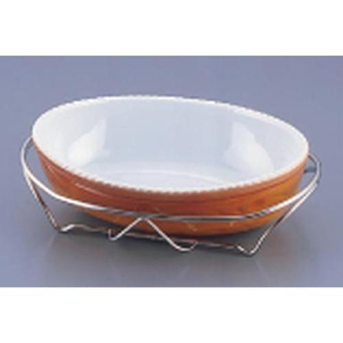 SAシャトレ 小判深グラタンセット 14-PC210-32茶 ビュッフェ用大皿(洋食器)