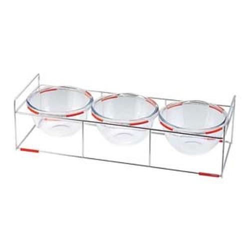 ワイヤースタンドセット(18cmボール付) BQ9909-1803(OR) ビュッフェ用大皿(洋食器)
