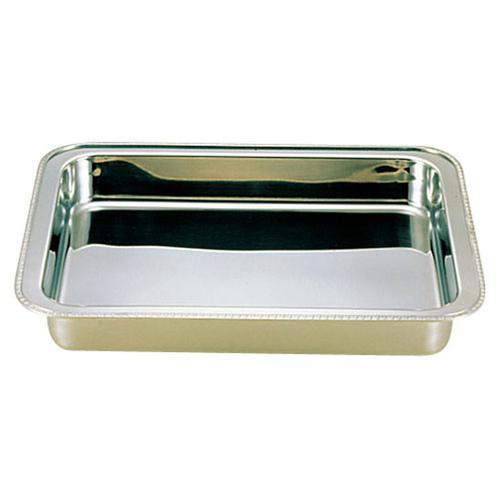 UK18-8 ユニット角湯煎用 ウォーターパン 18インチ チェーフィング(角型)
