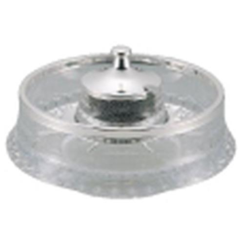 洋白3.8μUKキャビアボール クリスタルF エスカルゴ皿