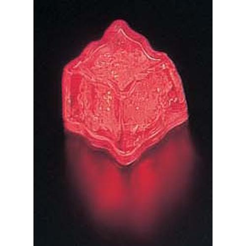 ライトキューブ・オリジナル 標準輝度 (24個入)レッド LEDキャンドル