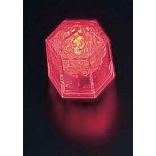 ライトキューブ・クリスタル 標準輝度 (24個入)レッド LEDキャンドル