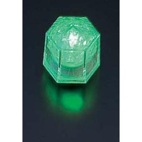 ライトキューブ・クリスタル 高輝度 (24個入)グリーン LEDキャンドル